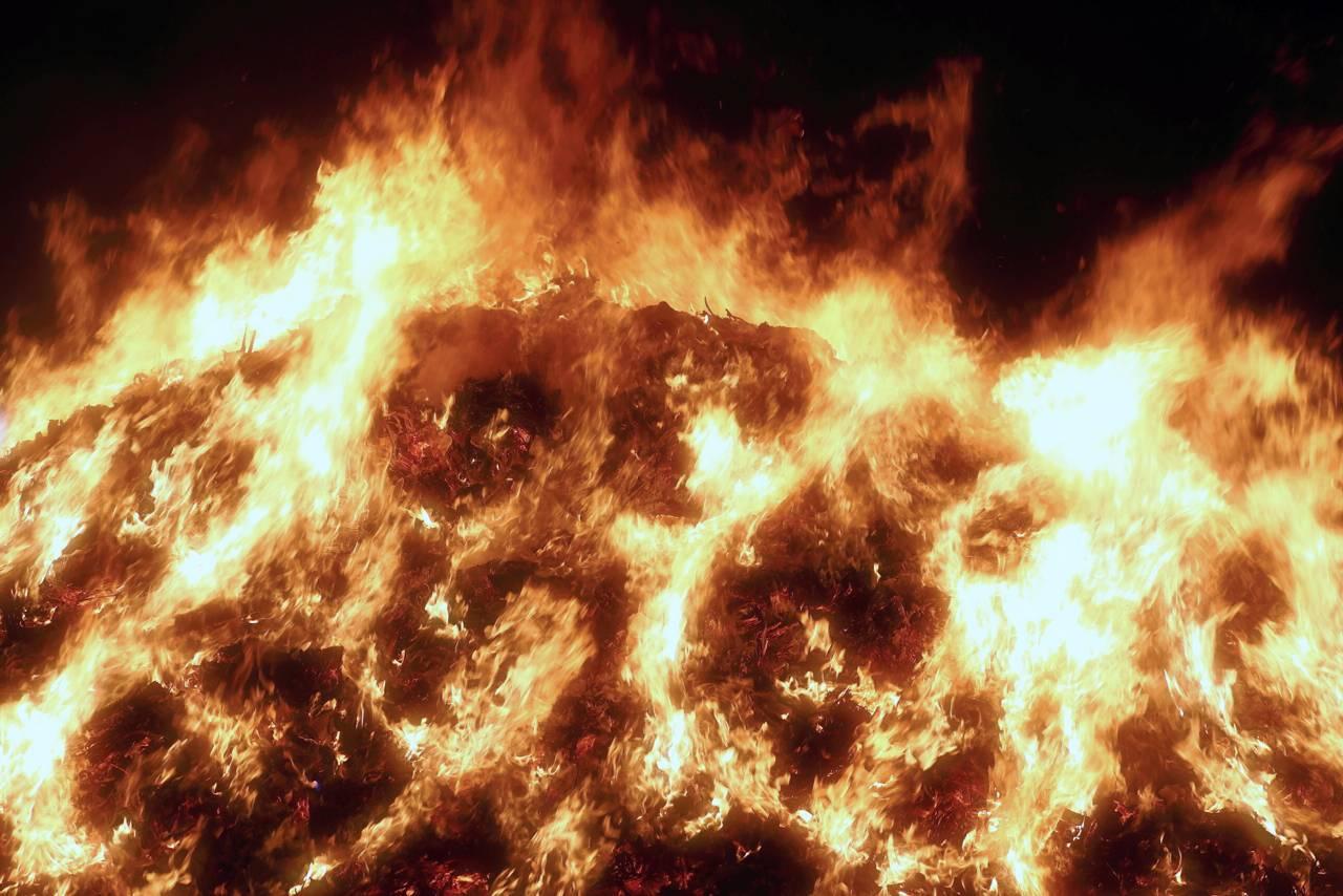 塩竈神社のどんと祭