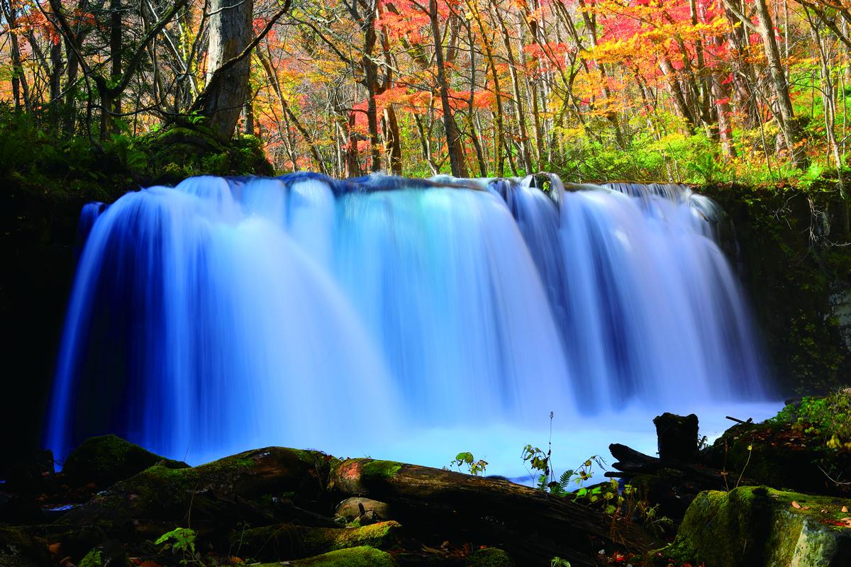 奥入瀬渓流と十和田湖の紅葉